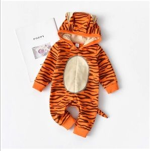 Baby Bodysuit Tiger